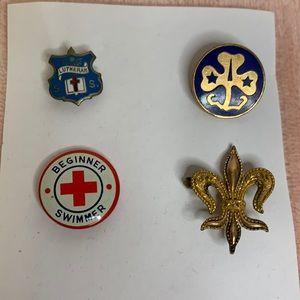 Vintage Bundle of Iconic Pins
